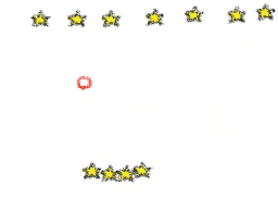 Stars, clouds, underground stars (and one rocket)