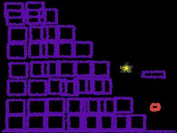 The purple stairway
