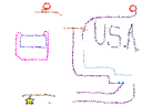 U.S.A. and tubes